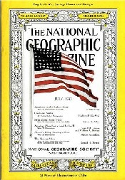 July 1943: NGM's first cover photo