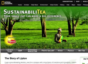 New frontiers in co-branding: The National Geographic Society & Lipton Tea
