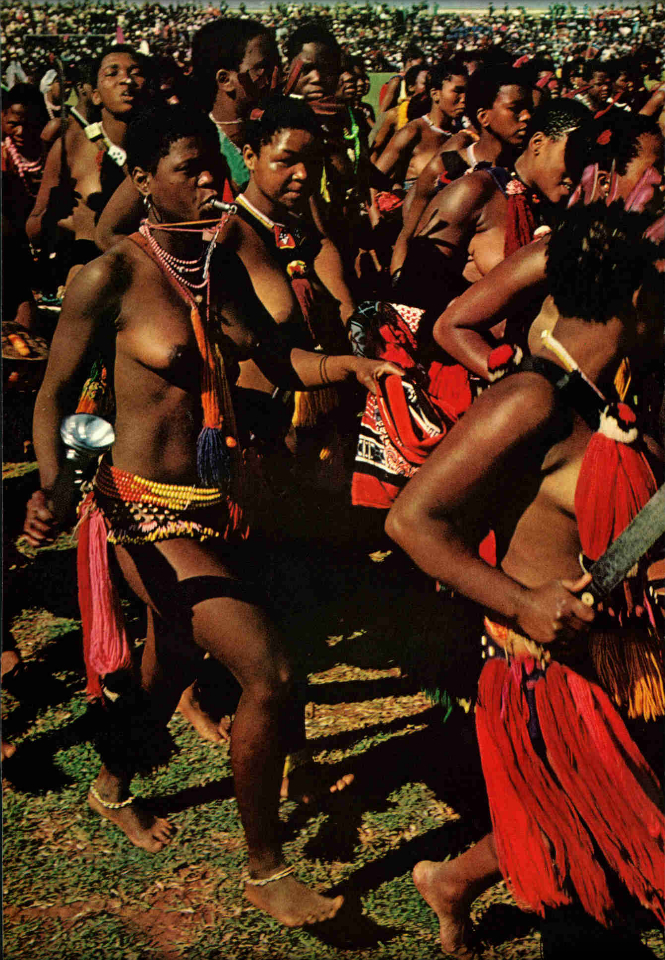 Swaziland bare breasted women
