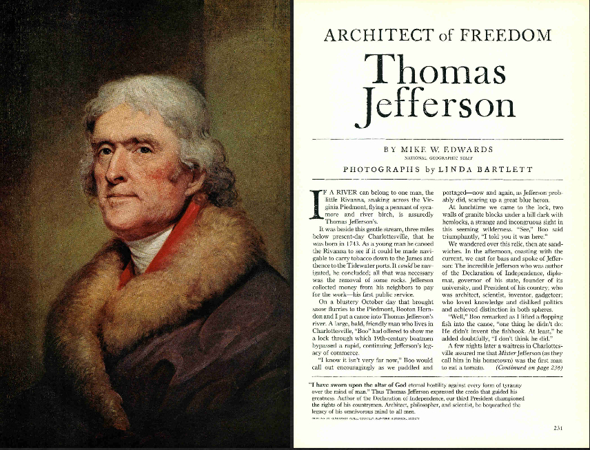 Thomas Jefferson, Architect of Freedom
