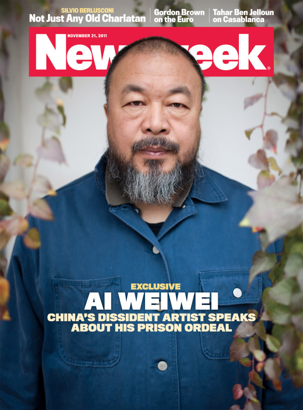 Ai Weiwei Newsweek cover China