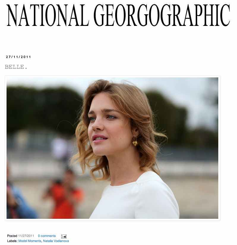 National Georgographic brand blog