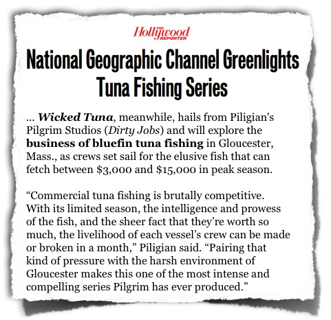 Hollywood Reporter Wicked Tuna