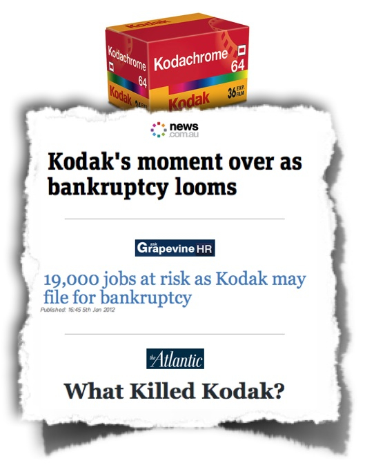 Kodak bankruptcy looms; news headlines
