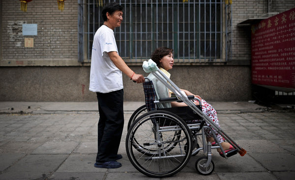 Ni Yulan China wheelchair human rights1