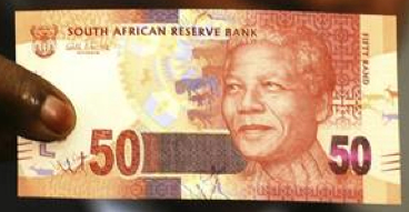 Nelson Mandela rand new just note