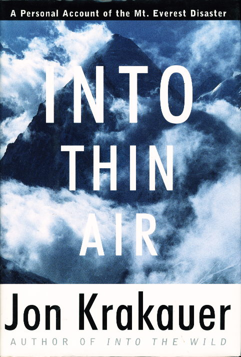 an overview and the expedition of the novel into thin air by jon kraukuer Into thin air by: jon krakauer: home section 1 (chapters 1-7) : the author, jon krakauer of the book, hall's expedition team begins to climb from.