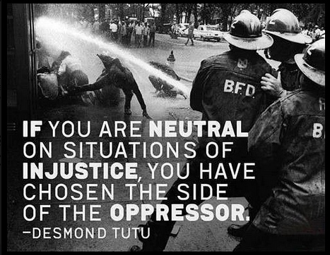 Neutral injustice Desmond Tutu