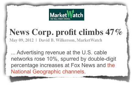 News Corp profits NG Channel red MarketWatch