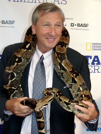David Lyle and snake