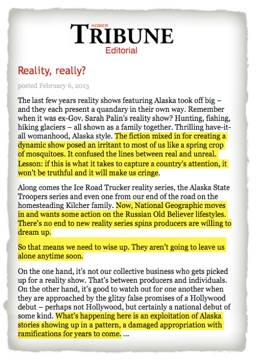 Homer_Tribune_Reality_Really_editorial_Old_Believers