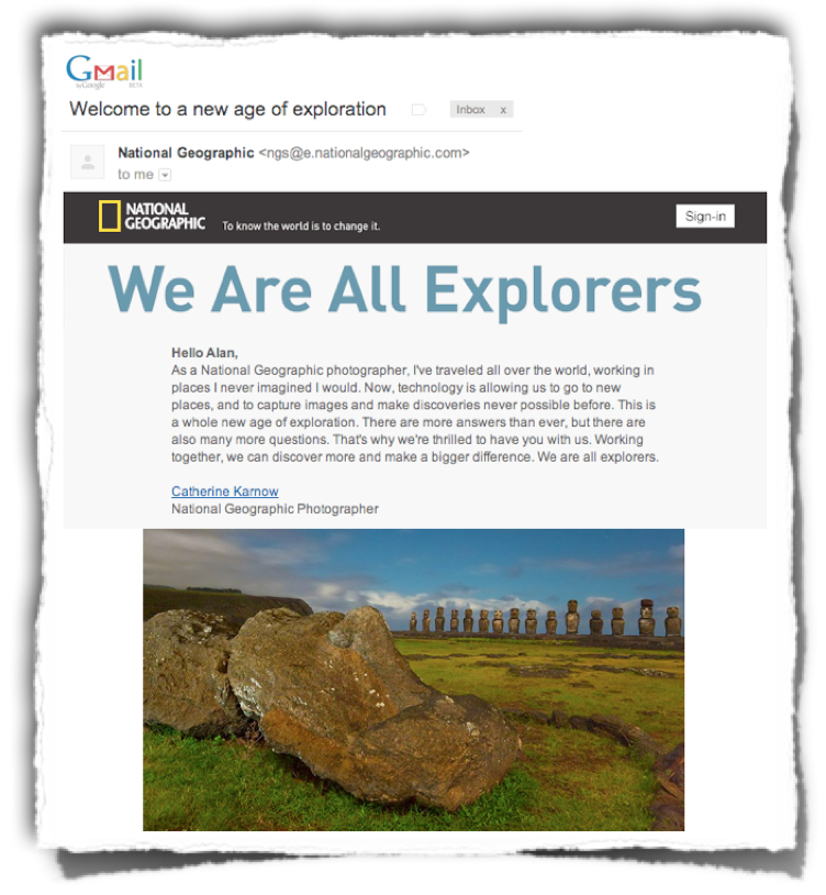 Catherine Karnow we are explorers email