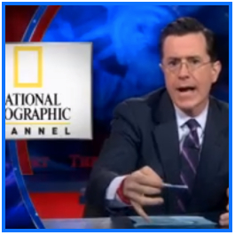 Stephen Colbert National Geographic